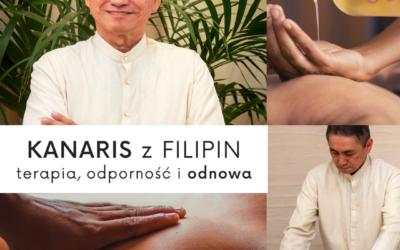 Kanaris – terapeuta z Filipin w Uzdrowisku Miejskim No Gravity!  Podnieś swoją odporność. Zaznaj terapii, odnowy i relaksu✨